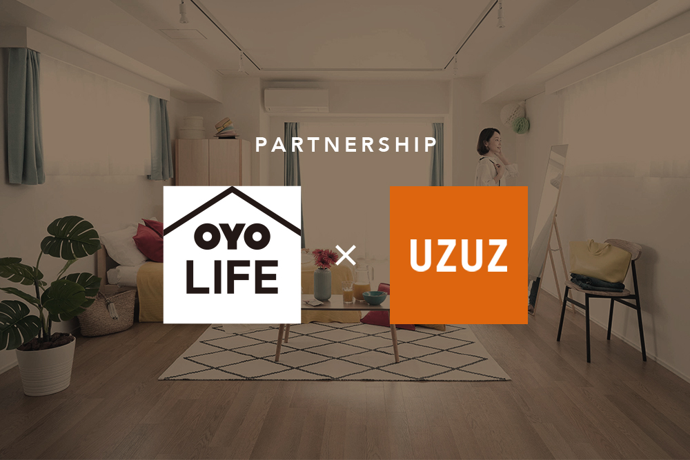 地方求職者の就職活動にかかる「上京費用」を軽減 |第二新卒・既卒向けエージェント「UZUZ」と「OYO LIFE」が提携|初期費用0円、水道光熱費・Wi-Fi費込みの住居を最短1ヶ月から提供