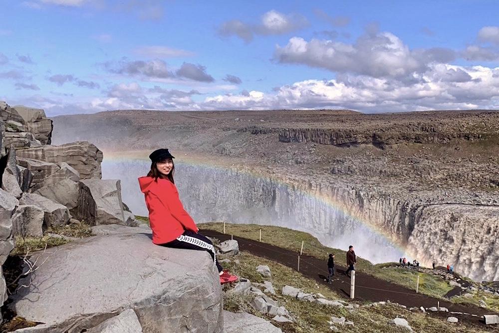 アイスランド・デティフォスの滝の景色
