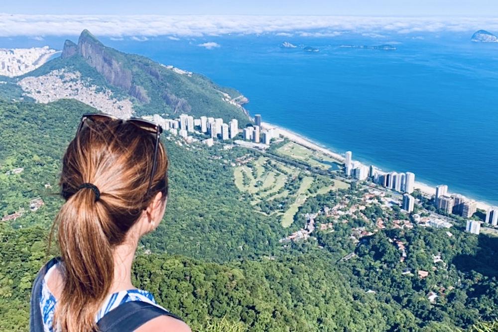 ブラジル〈リオデジャネイロ〉・ペドラボニータからの景色