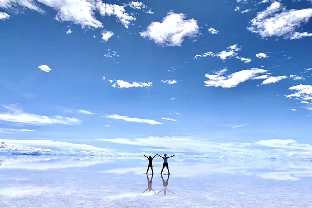 ボリビア・ウユニ塩湖の景色