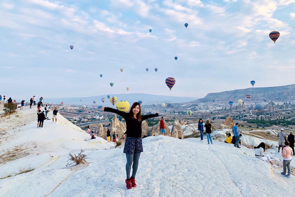 トルコ・カッパドキアの熱気球